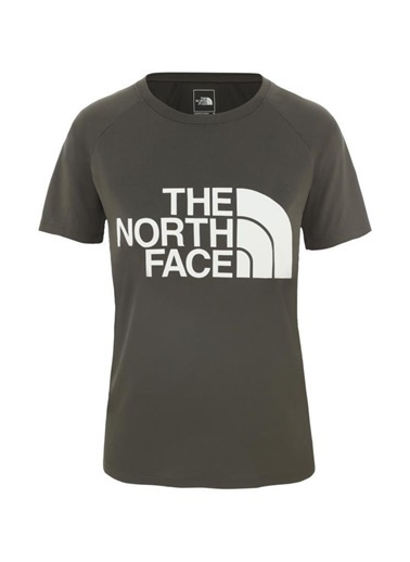 The North Face Graphic Play Hard Kadın T-Shirt Haki Yeşil